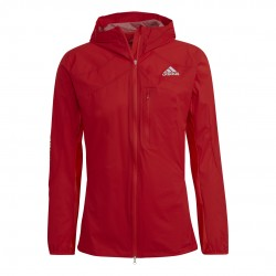 Adidas AdiZero Marathon Férfi Széldzseki (Piros) HB5118