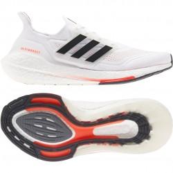 Adidas ULTRABOOST 21 Cipő (Fehér-Színes) S23863