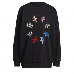 Adidas Originals ST Sweatshirt Női Pulóver (Fekete-Színes) H36845