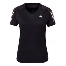 Adidas Own The Run Női Póló (Fekete-Fehér) FS9830