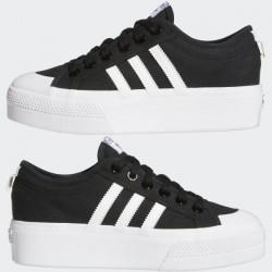 Adidas Originals Nizza Platform Női Cipő (Fekete) FV5321