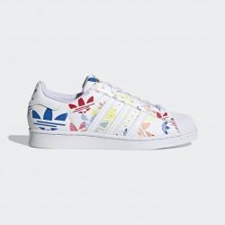 Adidas Originals Superstar Férfi Cipő (Fehér-Színes) H00183