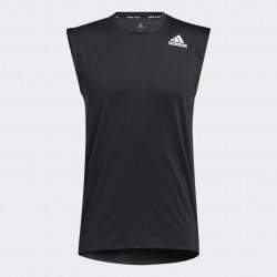 Adidas Techfit Sleeveless Fitted Férfi Póló (Fekete) GL0431