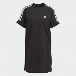 Adidas Originals Roll-Up Sleeve Női Dressz (Fekete-Fehér) GN2777
