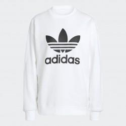 Adidas Originals Trefoil Női Pulóver (Fehér-Fekete) GN2961