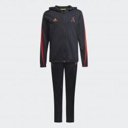 Adidas X Football-Inspired Gyerek Melegítő Együttes (Fekete-Piros)GT9405