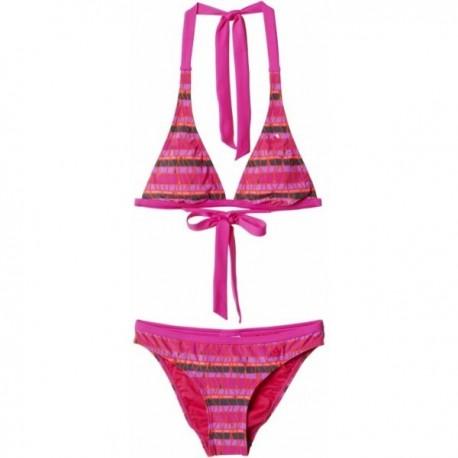 41f51e072d Adidas Beach Stripe Halter-Neck Bikini Női Bikini (Rózsaszín) AB5969