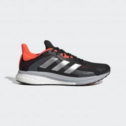 Adidas SolarGlide 4 ST Férfi Cipő (Fekete-Narancs) FY4108