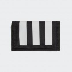 Adidas Essentials 3-Stripes Pénztárca (Fekete-Fehér) GN2037
