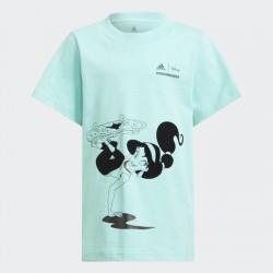 Adidas Disney Comfy Princesses Gyerek Póló (Türkiz) H57179