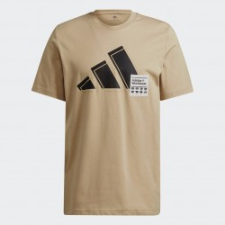 Adidas Short Sleeve Férfi Póló (Bézs) GU3644