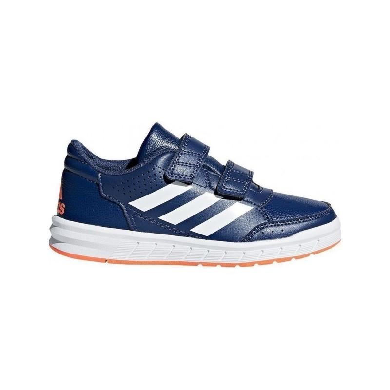 Adidas AltaSport CF K Fiú Gyerek Cipő (Kék-Fehér-Narancssárga) CP9949 e477233ab0