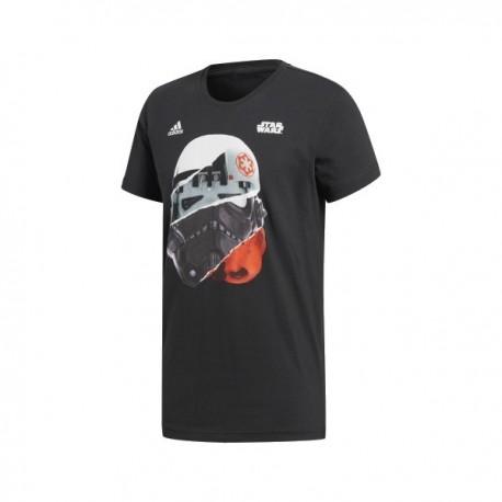 Adidas Star Wars Storm Trooper Tee Férfi Póló (Fekete-Színes) CE2200