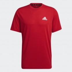 Adidas Designed 2 Move Feelready Férfi Póló (Piros) GT5552