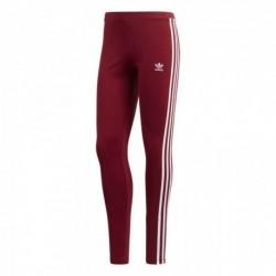 Adidas Originals 3 Stripes Leggings Női Leggings (Bordó-Fehér) CE2442