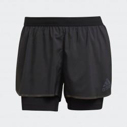 Adidas Adizero Two-in-One Női Futó Short (Fekete) H31150