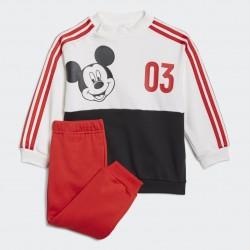 Adidas Disney Mickey Mouse Jogger Bébi Együttes (Fehér-Piros) GT9477