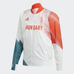 Adidas Tokyo2020  Olimpia Magyarország Zipzáras Felső (Piros-Fehér-Zöld) FL7073