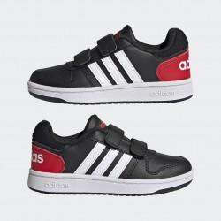 Adidas Hoops 2.0 Gyerek Cipő (Fekete-Fehér) FY9442