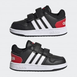 Adidas Hoops 2.0 Bébi Cipő (Fekete-Fehér) FY9444