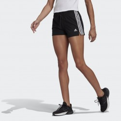 Adidas Essentials Slim Női Short (Fekete-Fehér) GM5523