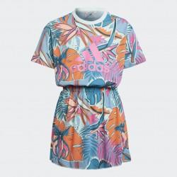 Adidas Dance Dress Lány Ruha (Kék-Pink) GM7008