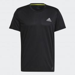 Adidas Fast Primeblue Fényvisszaverős Férfi Póló (Fekete) GN5707