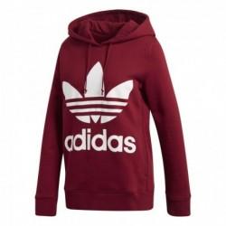Adidas Originals Trefoil Hoodie Női Pulóver (Piros-Fehér) CE2409