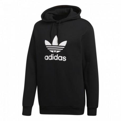 Adidas Originals Warm Up Hoodie Férfi Pulóver (Fekete-Fehér) CW1240