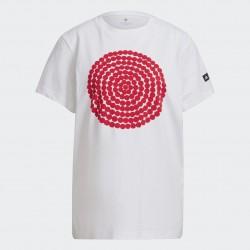 Adidas Marimekko Női Póló (Fehér-Piros) GT8821