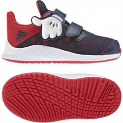 Adidas Disney Mickey FortaRun Fiú Gyerek Cipő (Fekete-Piros) CQ0111