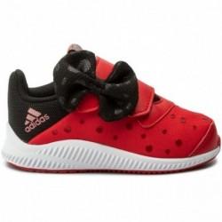 Adidas Disney Minnie FortaRun Lány Gyerek Cipő (Piros-Fekete) CQ0113
