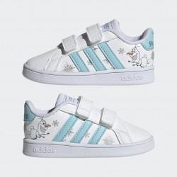 Adidas Disney Jégvarázs Grand Court Bébi Cipő (Fehér-Kék) GZ7616