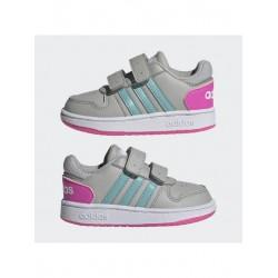 Adidas HOOPS 2.0 CMF I Bébi Cipő (Szürke-Pink) H01554