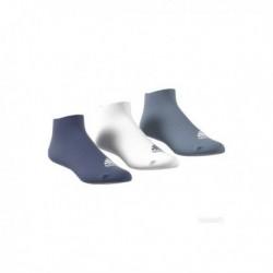 Adidas No Show Thin 3PP 3 Páras Zokni (Kék-Fehér-Szürke) CF7370