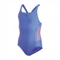 Adidas Infinitex EC 3 Stripes Lány Gyerek Úszó Dressz (Kék-Rózsaszín) CV3650