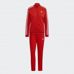Adidas Essentials 3-Stripes Női Melegítő Együttes (Piros-Fehér) H10157
