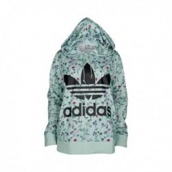 Adidas Originals Hoodie Női Pulóver (Zöld-Fekete) DN9094