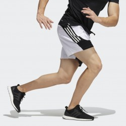 Adidas AEROREADY 3-Stripes Slim Shorts Férfi Short (Fehér-Fekete) H16871
