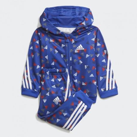 Adidas Future Icons Shiny Graphic Bébi Együttes (Kék-Fehér) H28833