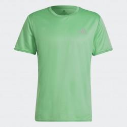 Adidas Fast Primeblue Férfi Póló (Zöld) H32232