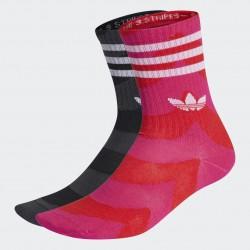 Adidas Marimekko 2 Páras Zoknicsomag (Pink-Fekete) H32405