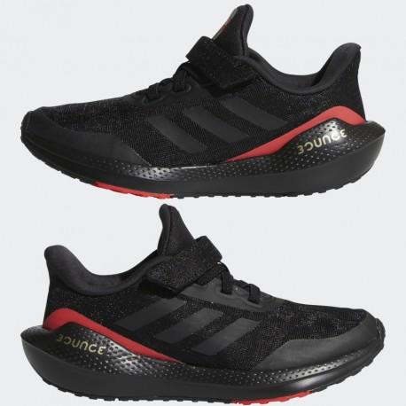 Adidas EQ21 RUN EL GYerek Cipő (Fekete-Piros) GZ5399