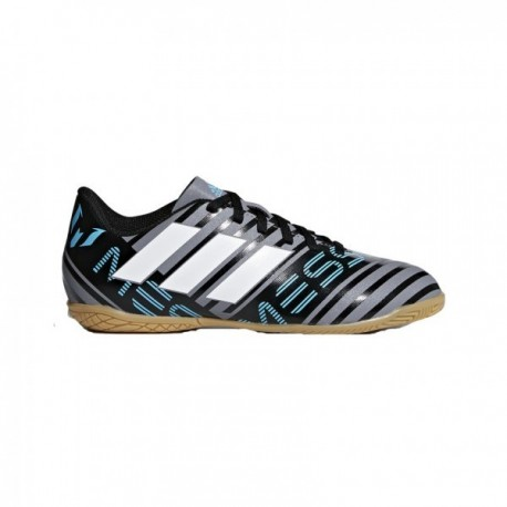 Adidas Nemeziz Messi Tango 17.4 IN Fiú Gyerek Foci Cipő (Szürke-Fehér)  CP9225 d9b95b05fa87