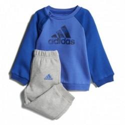 Adidas Logo Jogger Kisfiú Bébi Együttes (Kék-Szürke) CF7376