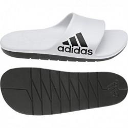 Adidas Aqualette Cloudfoam Slides Férfi Papucs (Fehér-Fekete) CM7927