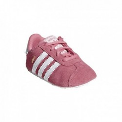 Adidas Originals Gazelle Crib Shoes Bébi Kislány Kocsicipő (Rózsaszín-Fehér) CM8228