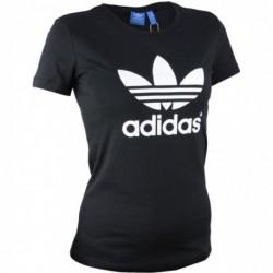 Adidas Originals Trefoil Tee Női Póló (Fekete-Fehér) AJ8084
