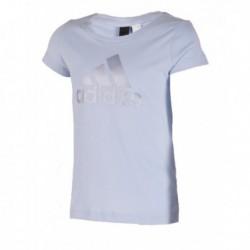 Adidas Young Logo Tee Lány Gyerek Póló (Kék) BP8603