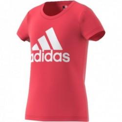 Adidas Young Logo Tee Lány Gyerek Póló (Rózsaszín) BP8606